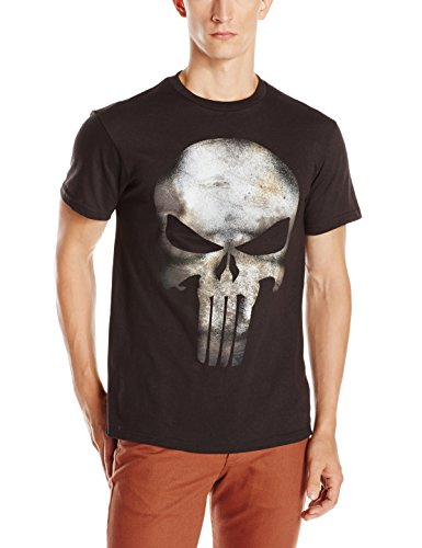 Marvel the punisher men 39 s no sweat t shirt black small for How to not sweat through shirts
