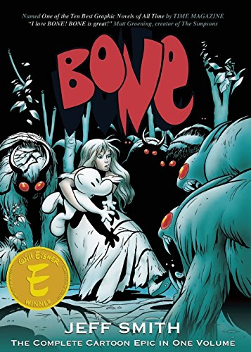 Bone-The-Complete-Cartoon-Epic-All-volumes-in-Single-bookBlack-White-Edition-0