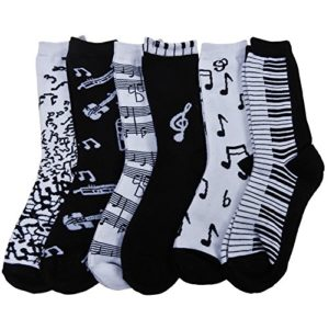 RSG-Hosiery-Womens-Teens-Fun-Funky-Crew-Socks-0