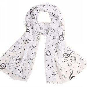Uget-Womens-Music-Note-Print-Chiffon-Long-Scarf-Wrap-Shawls-0