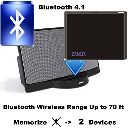 bmr bluetooth music adapter for iphone samsung nokia. Black Bedroom Furniture Sets. Home Design Ideas